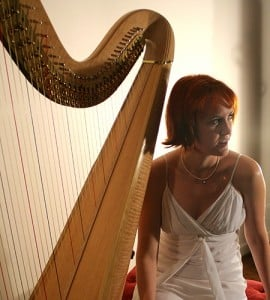 Alys with Pedal Harp